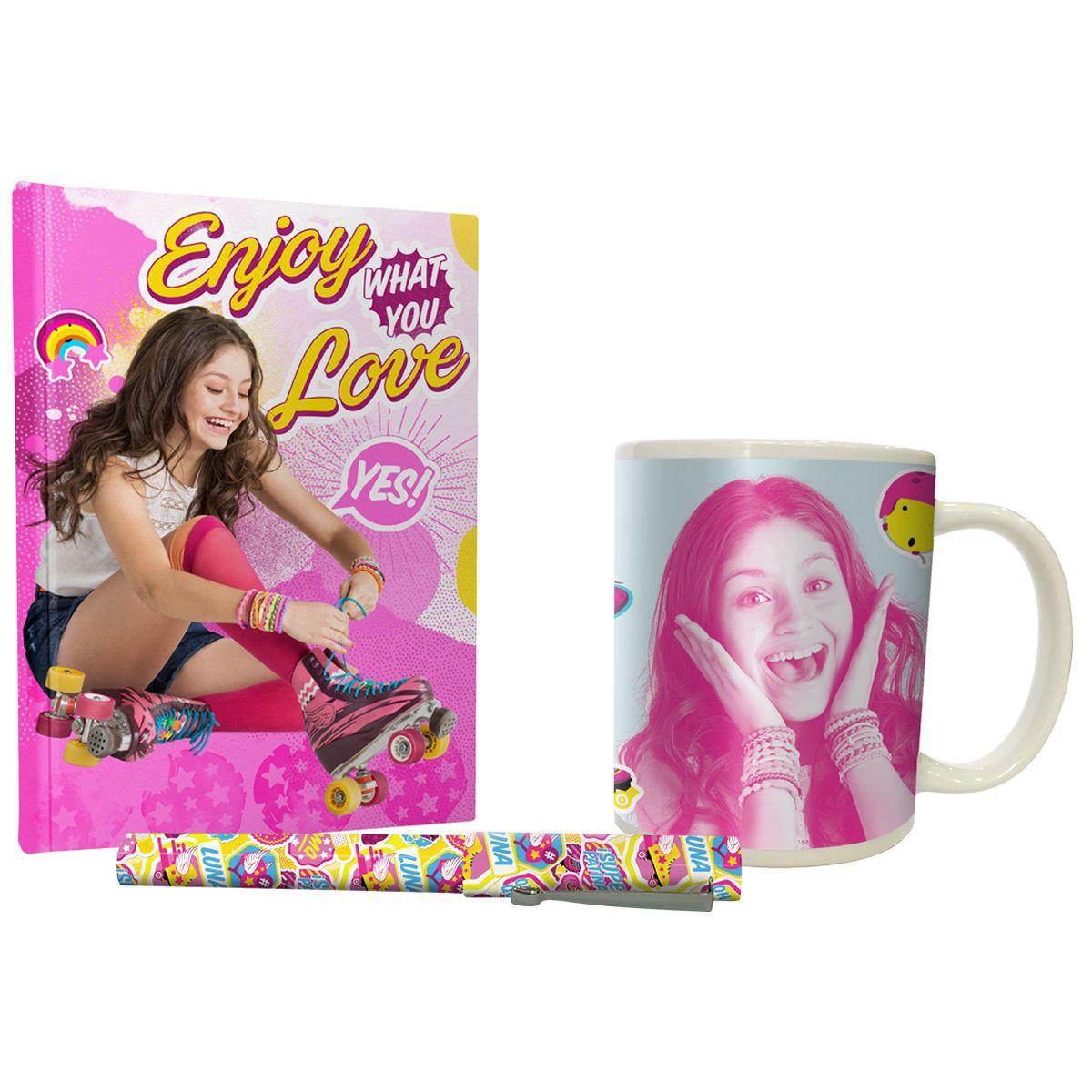 Calendrier De Lavent Soy Luna.Coffret Soy Luna Mug Stylo Et Notebook