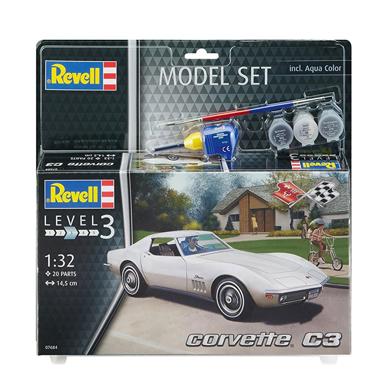 Maquette SetCorvette Model Voiture C3 Maquette iPXZuOkT