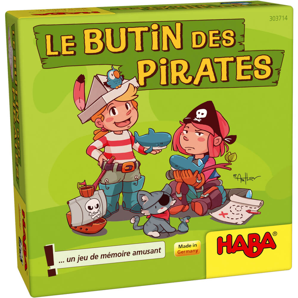 Le butin des pirates