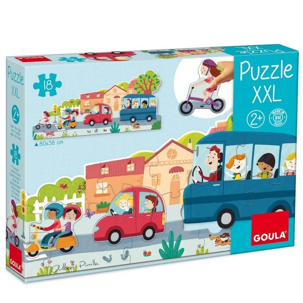 Puzzle 18 pièces XXL : Véhicules