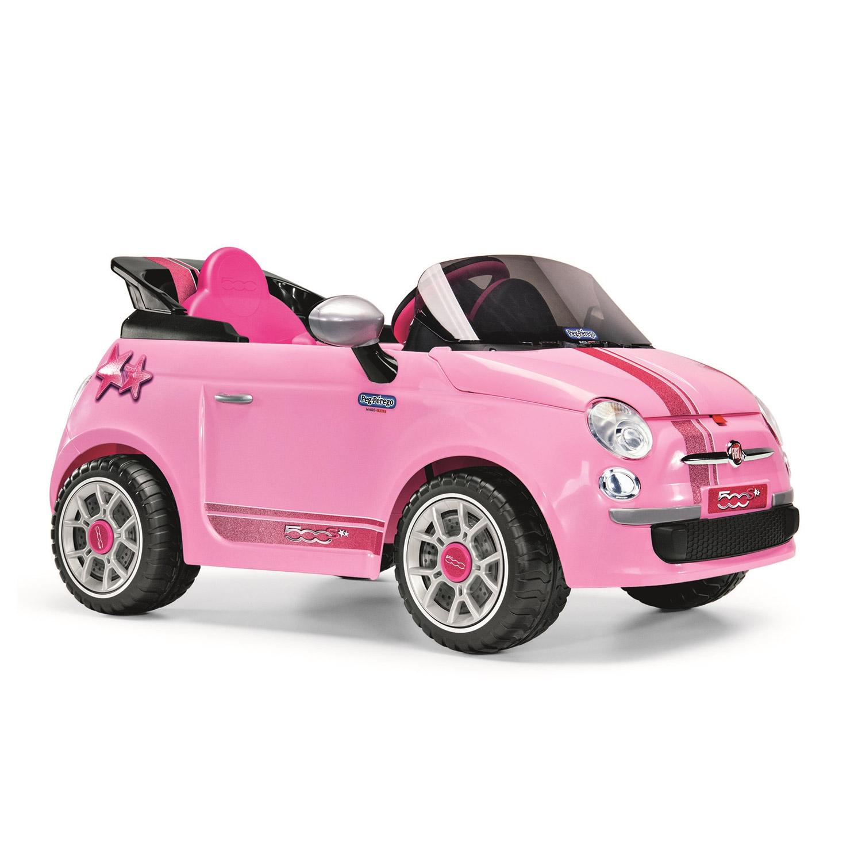 Vehicule Electrique Fiat 500 S Rose Fushia Jeux Et Jouets Peg Perego Avenue Des Jeux