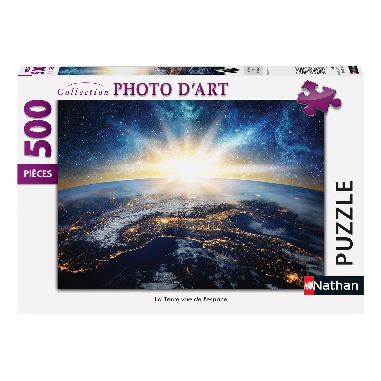 Puzzle 500 pièces : La Terre vue de l'espace