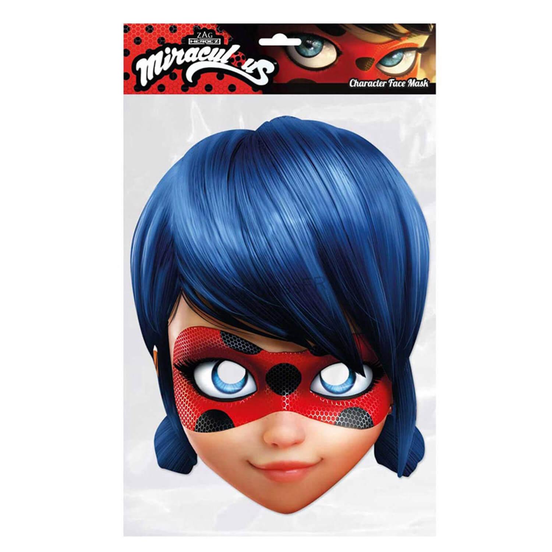 Masque Carton Ladybug Miraculous