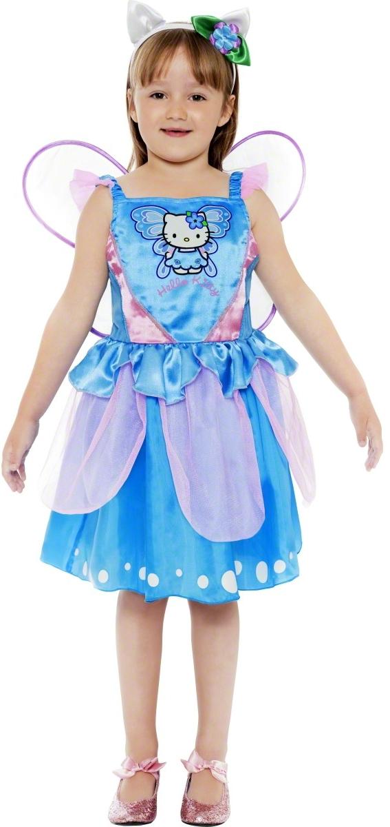 Costume Fée Papillon Bleu Hello Kitty© - Sanrio Co.©