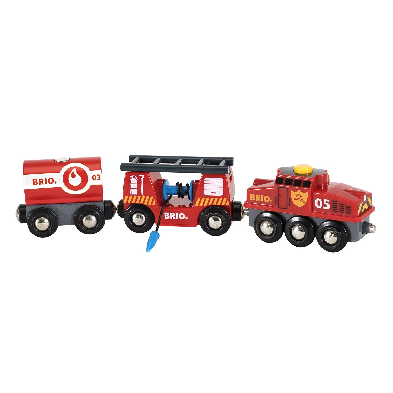 Train des pompiers