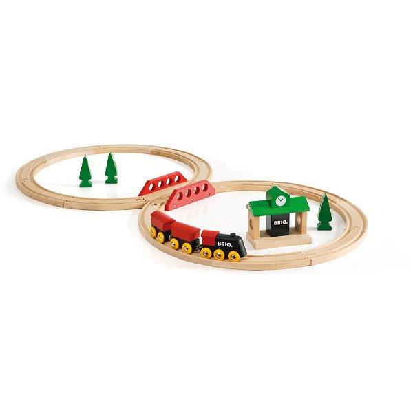Train Brio : Circuit tradition en 8