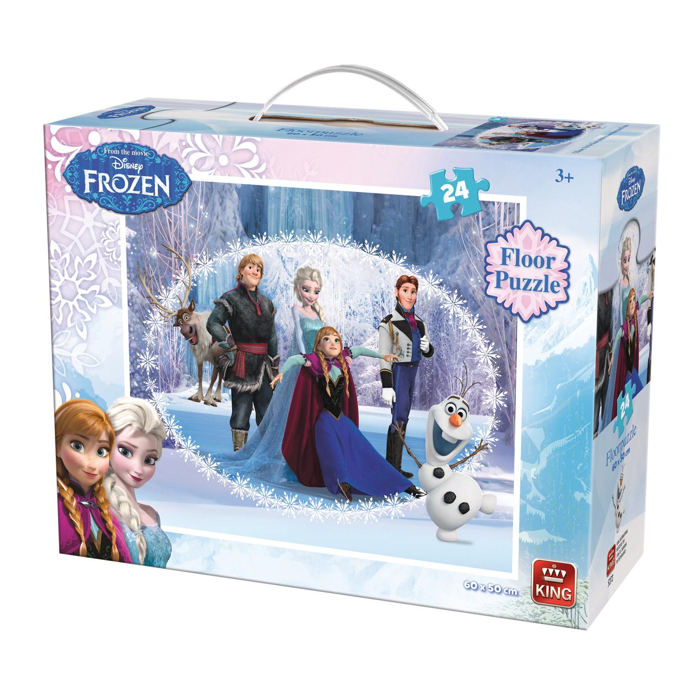 Puzzle 24 pièces XXL : La Reine des Neiges (Frozen)