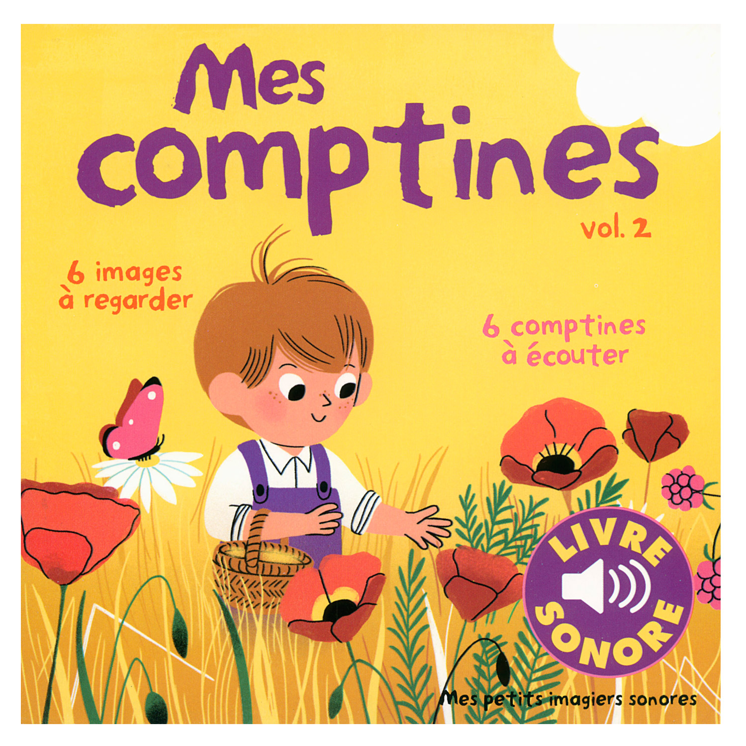 Livre Sonore Mes Comptines Tome 2