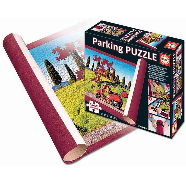 Tapis de puzzle 500 à 2000 pièces : Parking puzzle
