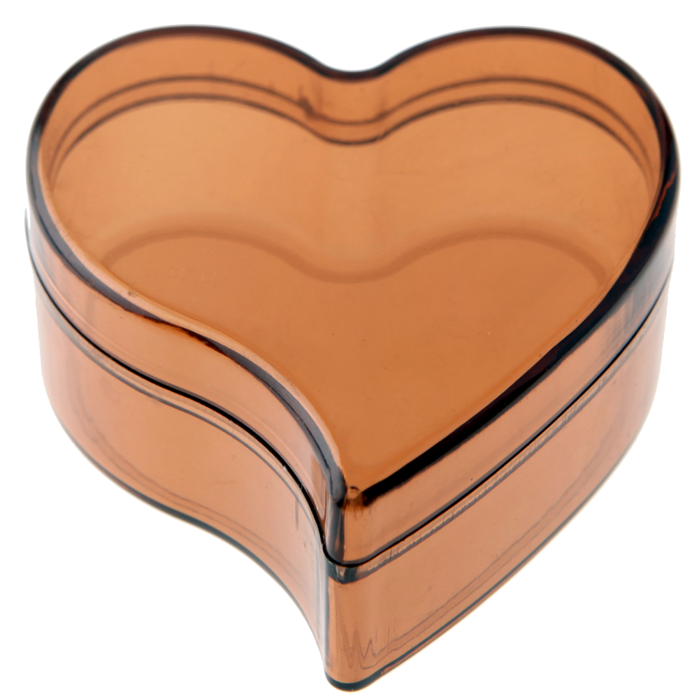 Boîte à Dragées Coeur Chocolat x6