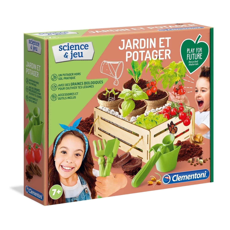 Kit science et jeu : Jardin potager