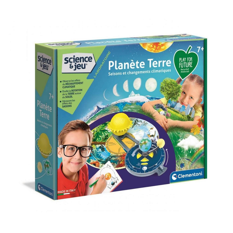 Kit science et jeu : Planète terre