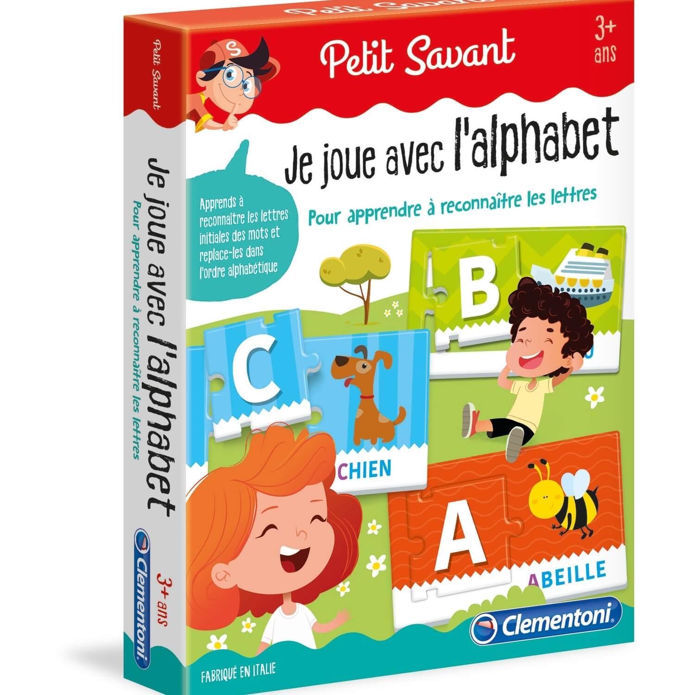 Petit savant : Je joue avec l'alphabet