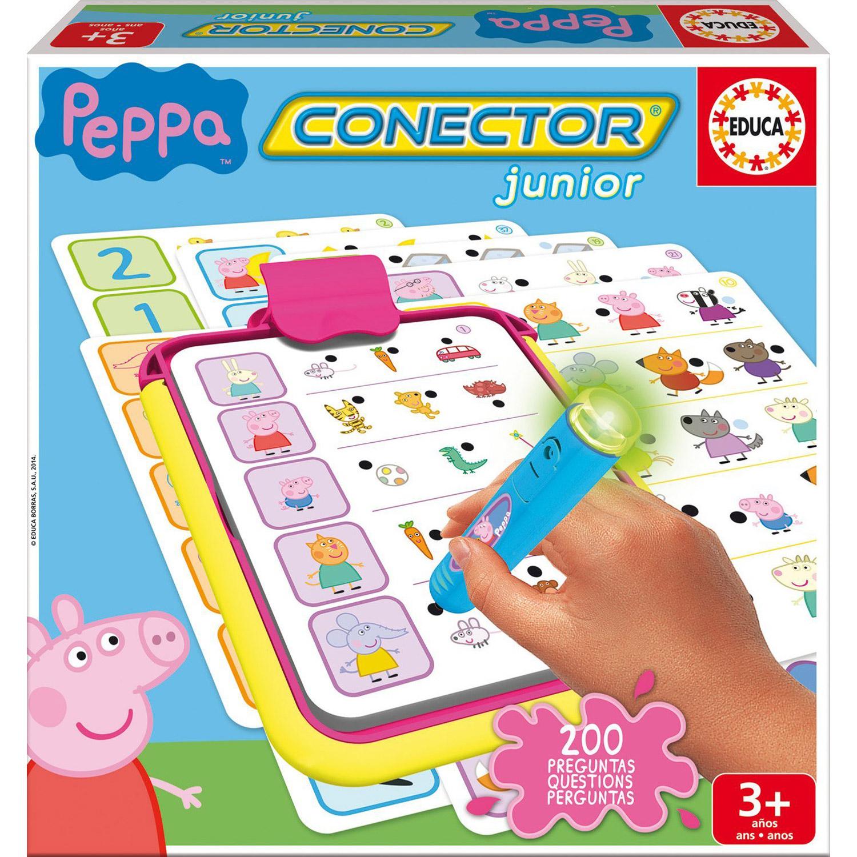 Jeu éducatif Conector : Peppa Pig