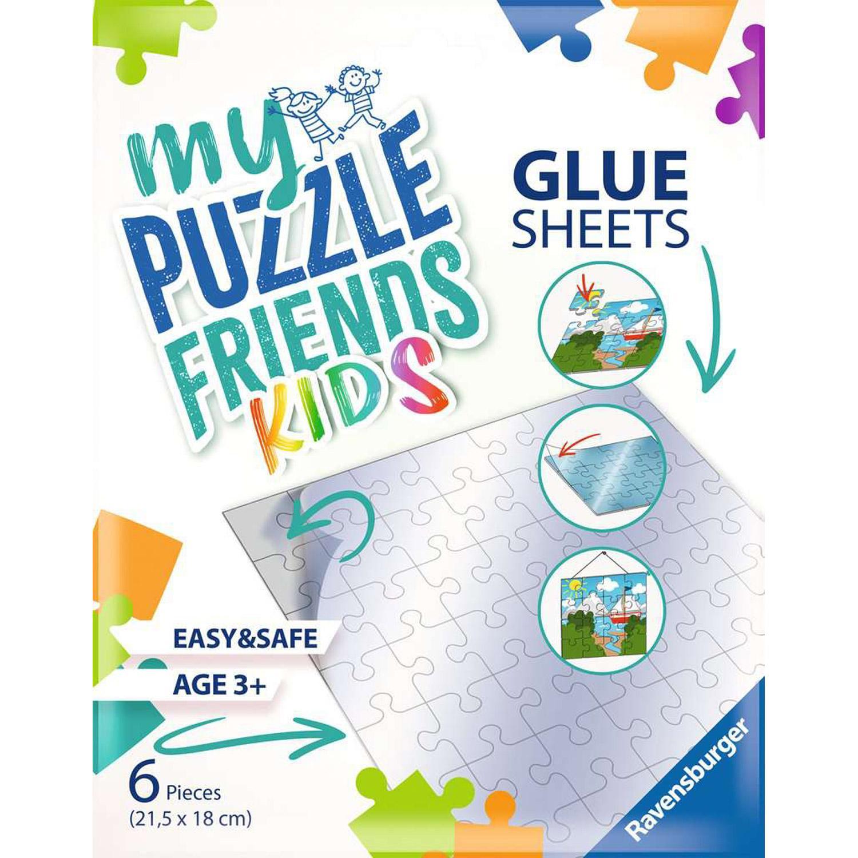 Feuilles adhésives pour puzzles