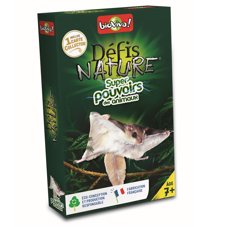 Défis Nature - Super pouvoirs des animaux