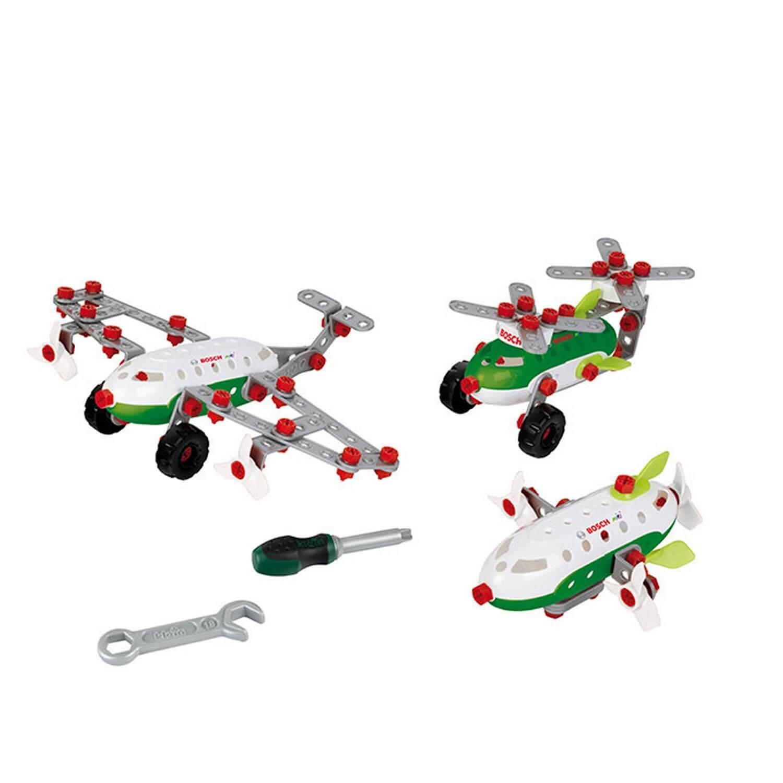 Kit 3 en 1 Bosch : Set de construction Aircraft Team