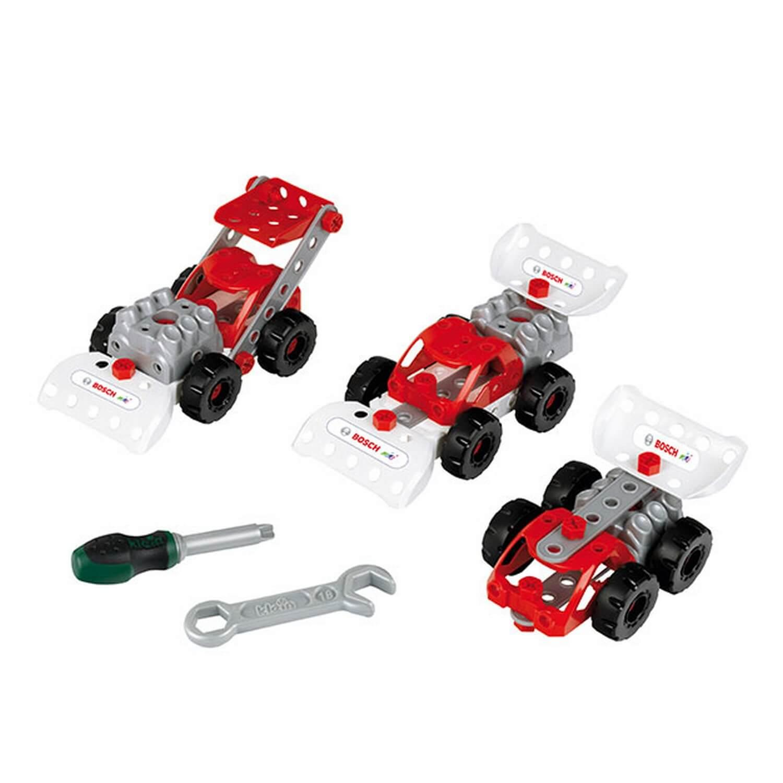 Kit 3 en 1 Bosch : Set de construction Racing Team
