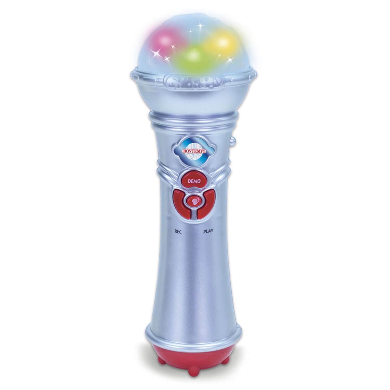 Microphone enregistreur avec lumière