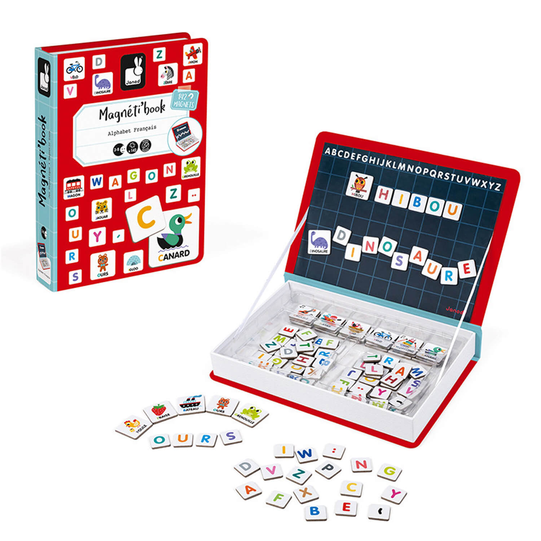 Magnéti'Book Alphabet français