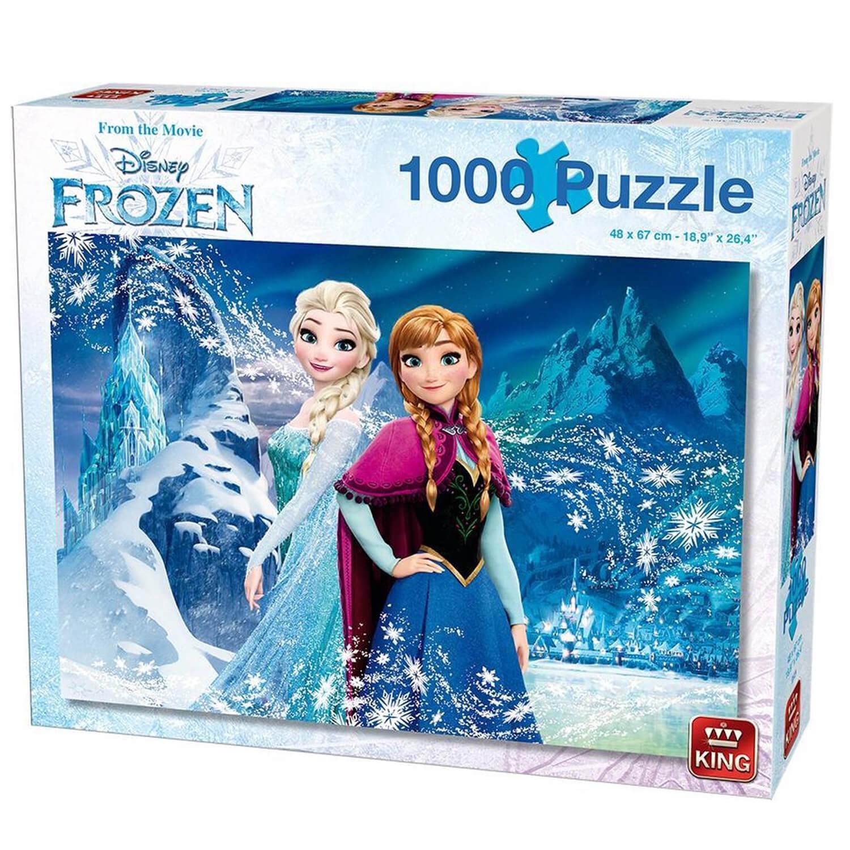 Puzzle 1000 pièces : Disney Frozen : La Reine des Neiges