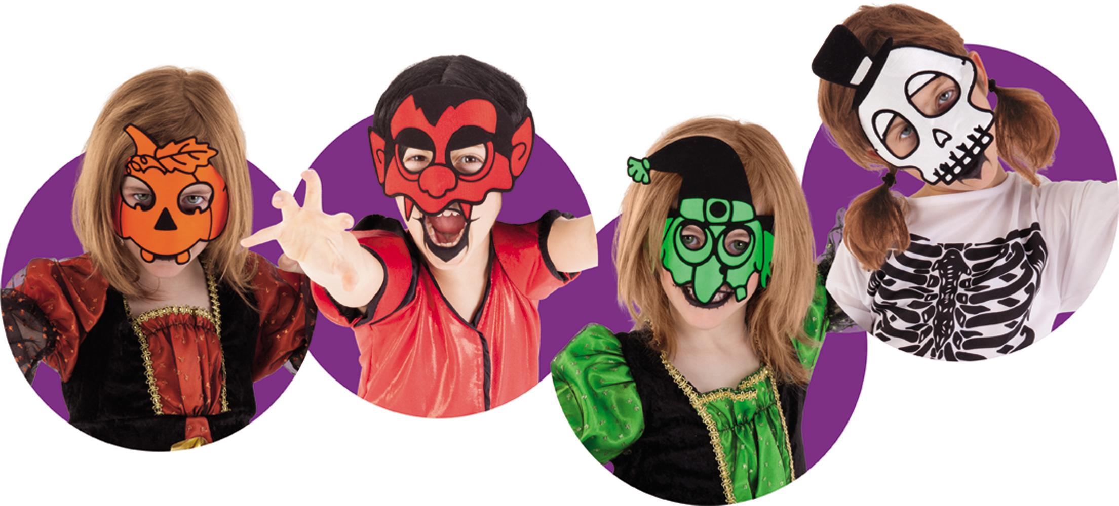 Masque Souple Halloween - Enfant