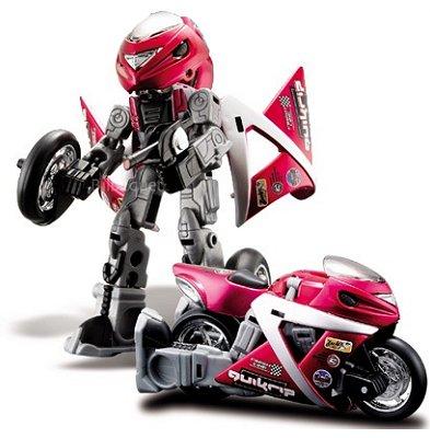 Moto A Pousser Jouet moto transformable en robot cykons : quikrip - jeux et jouets maisto