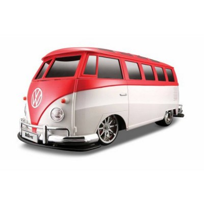 voiture radiocommand e volkswagen van samba echelle 1 10 maisto rue des maquettes. Black Bedroom Furniture Sets. Home Design Ideas