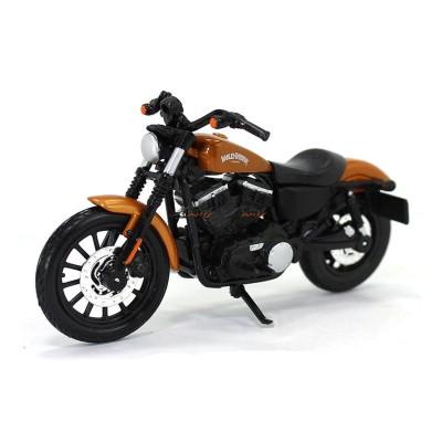 mod le r duit moto harley davidson 2014 sportster iron 883 1 18 jeux et jouets maisto. Black Bedroom Furniture Sets. Home Design Ideas