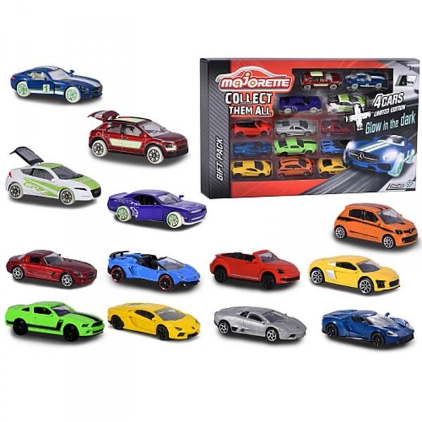 coffret majorette 13 pi ces 9 voitures 4 v hicules exclusifs jeux et jouets majorette. Black Bedroom Furniture Sets. Home Design Ideas