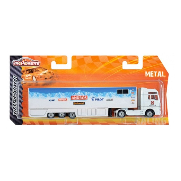 Camion transporteur Andros blanc - Majorette-212084601-Andros