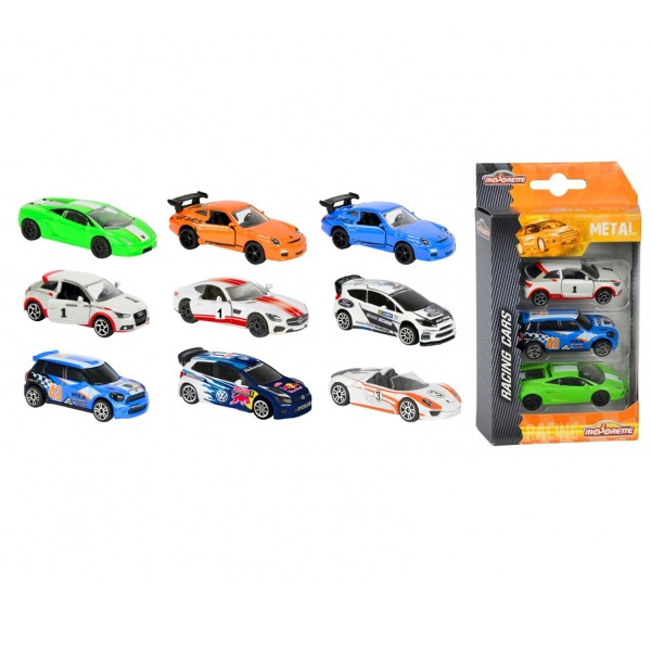 Voitures Majorette Premium Racing : Set 3 - Smoby-212084020SMO