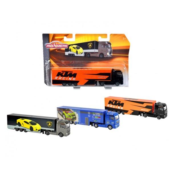 camion majorette racing transporteur poids lourds jeux et jouets majorette avenue des jeux. Black Bedroom Furniture Sets. Home Design Ideas