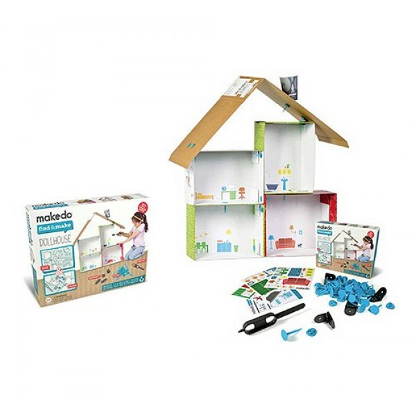 Makedo Find & Make : Maison de poupées - Makedo-2700006
