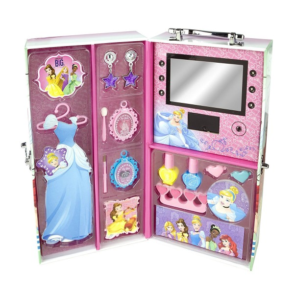 Mallette armoire de maquillage Princesses Disney - Markwins-9604310