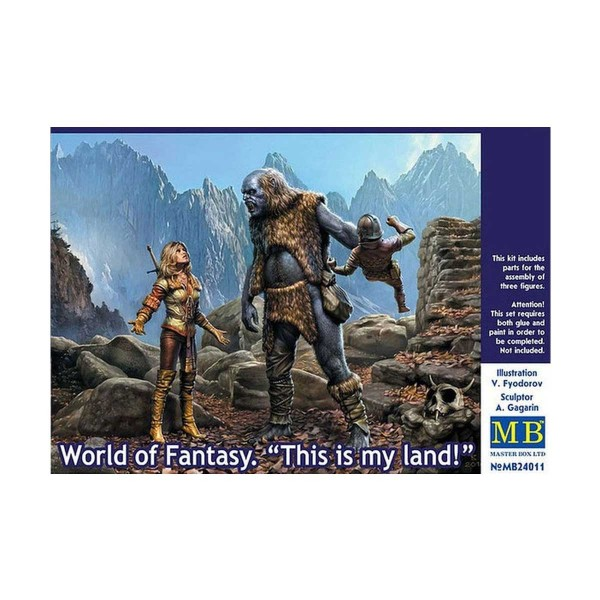 Figurine : World of Fantasy - This is my land ! - Master-MB24011
