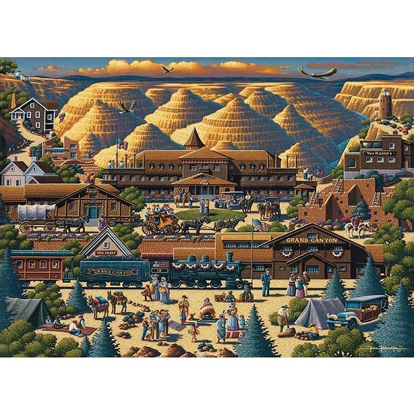 Puzzle 1000 pièces - Grand Canyon - Master-Pieces-45118