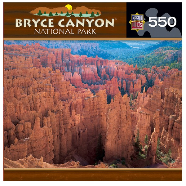 Puzzle 550 pièces : Bryce Canyon, National Parc - Master-Pieces-31287