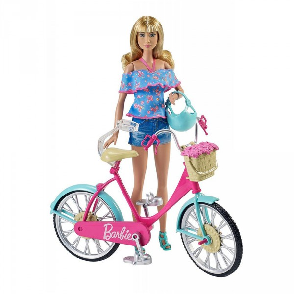 Bicyclette Barbie - Mattel-DVX55