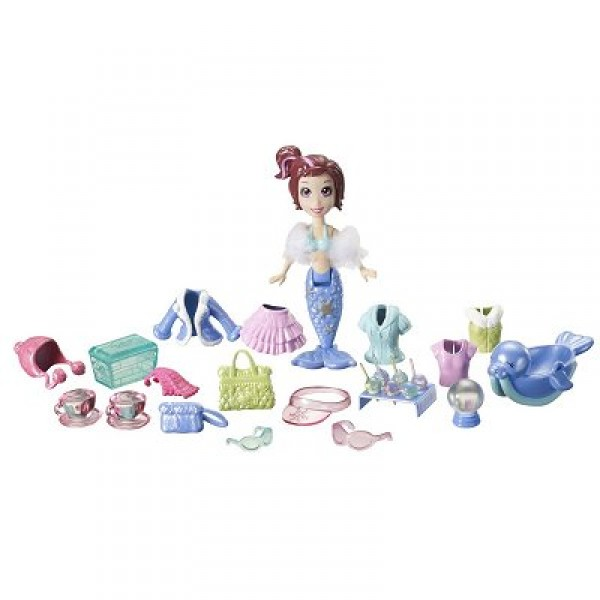 Polly Pocket Sac vinyle gourmand : Lila - Mattel-T1230-T7090