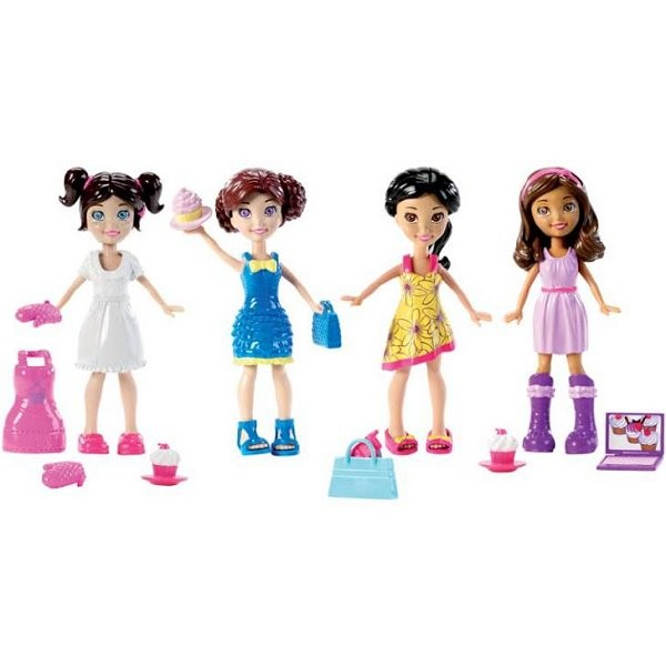 Polly Pocket Coffret Polly et ses amies - Mattel-W8731-W8732