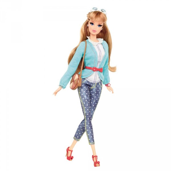 Poupée Barbie : Amies Mode Luxe : Midge - Mattel-BLR55-CBD30