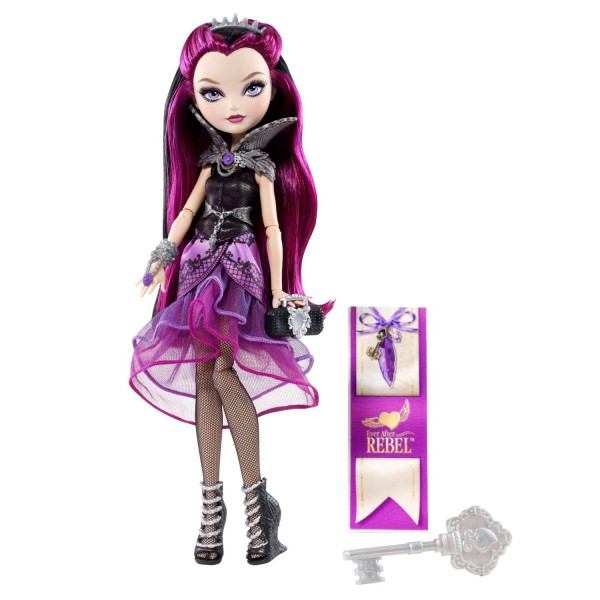 Poupée Ever After High : Clan des Rebels : Raven Queen - Mattel-BFW87-BFW88
