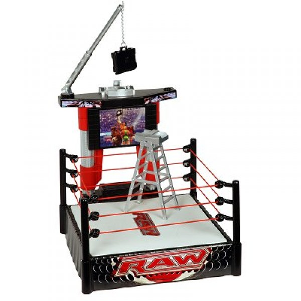 Ring électronique de catch - Money in the bank - Mattel-R9655