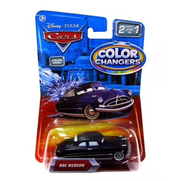 Voiture Cars - Color changers : Doc Hudson - Mattel-T1661-T2952