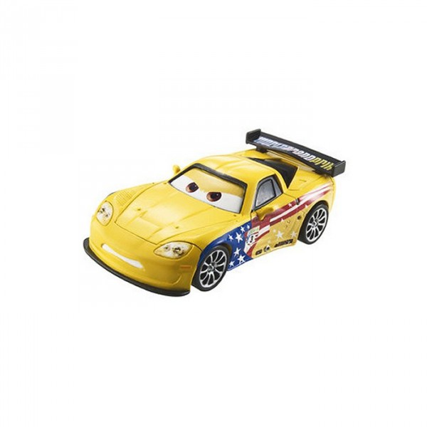Voiture Cars 2 - Jeff Corvette - Mattel-W5520-W1948