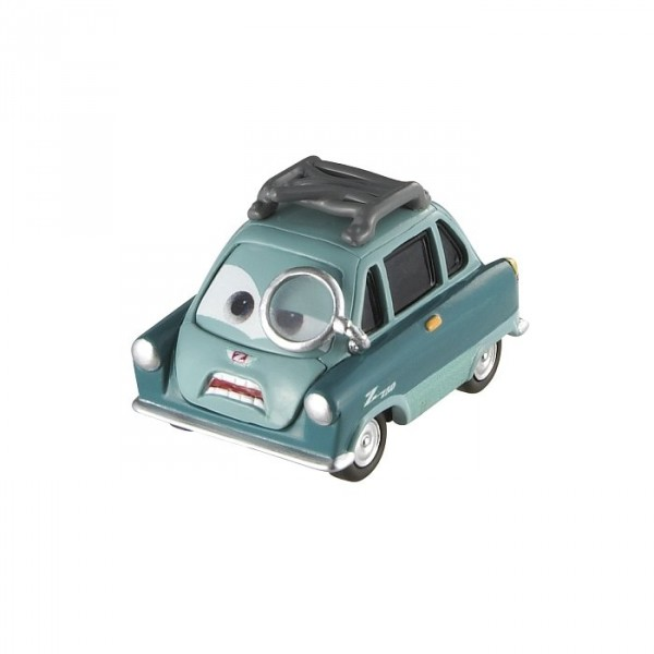 Voiture Cars 2 :  Professor - Mattel-W5520-W1944