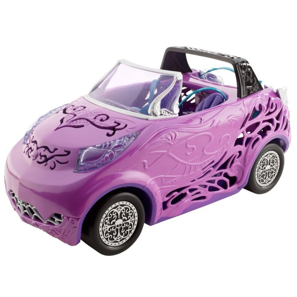 Voiture Monster High : Cabriolet convertible Scaris City of Frights - Mattel-Y0425-Y04307