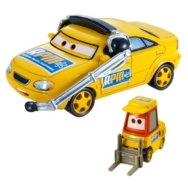 voitures cars coffret 2 v hicules chief rpm et petrol pulaski jeux et jouets mattel. Black Bedroom Furniture Sets. Home Design Ideas