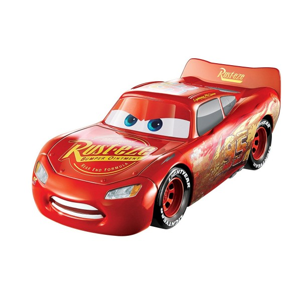 voiture 3 en 1 cars 3 flash mcqueen jeux et jouets mattel avenue des jeux. Black Bedroom Furniture Sets. Home Design Ideas